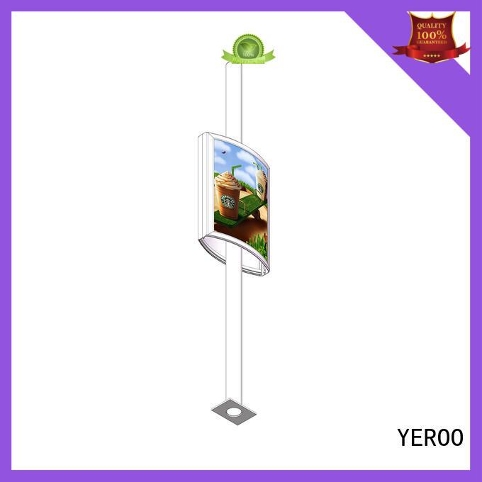 YEROO pole led display energy-saving