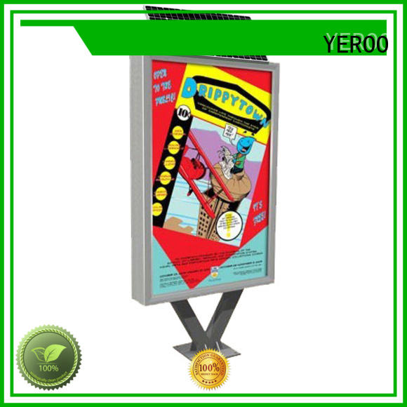YEROO outdoor light box free design for advertising