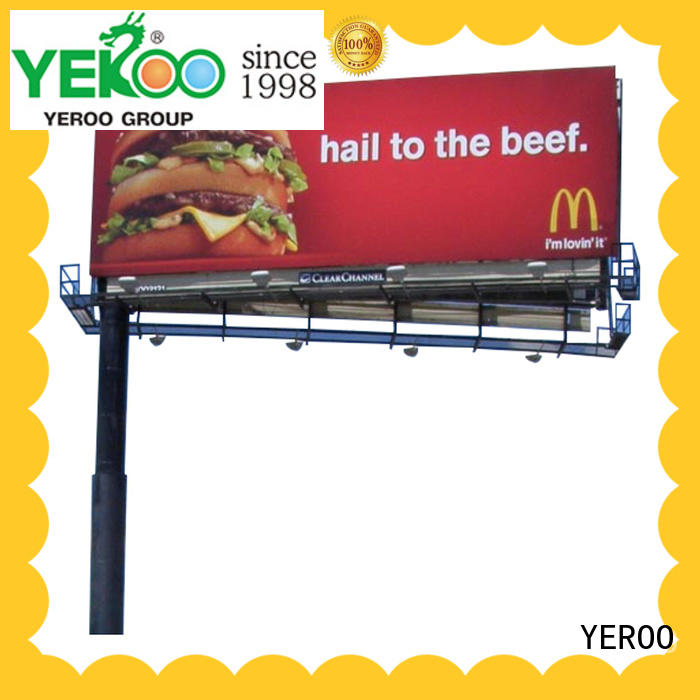 three sided solar powered billboard lights check now fro market