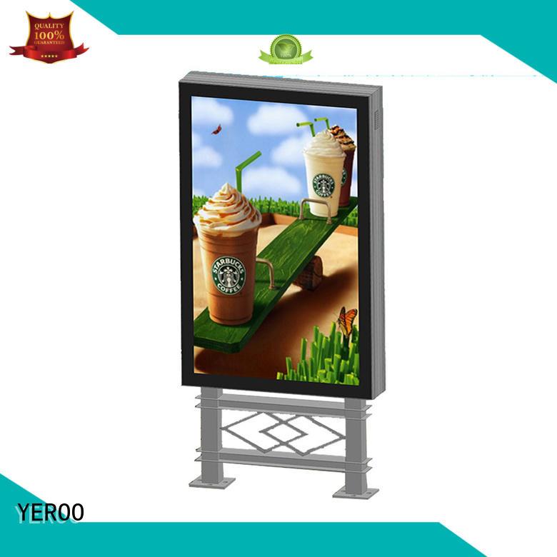 advertising led light box display light for street ads YEROO