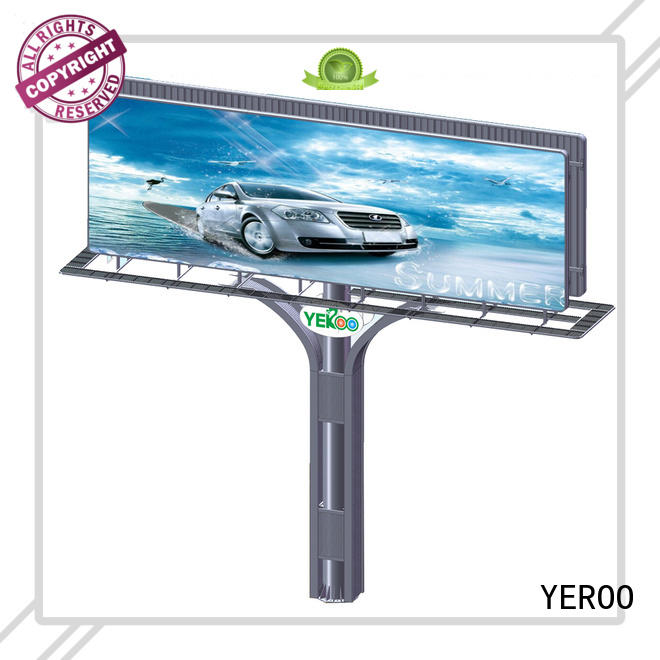 free standing billboard buy now for super mall YEROO