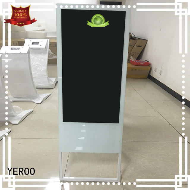 rotating Indoor LCD display payment best landscape YEROO