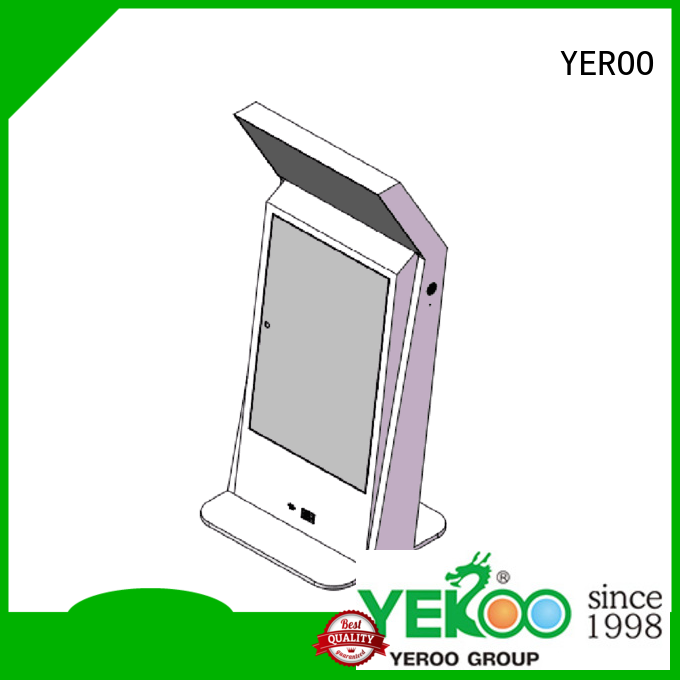 YEROO cheap factory price digital kiosk favorable quality for outdoor ad