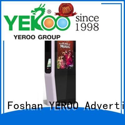 YEROO double side digital kiosk hot-sale for marketing