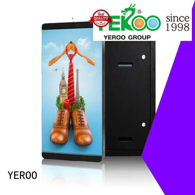 YEROO wall mounted outdoor led screen for super market