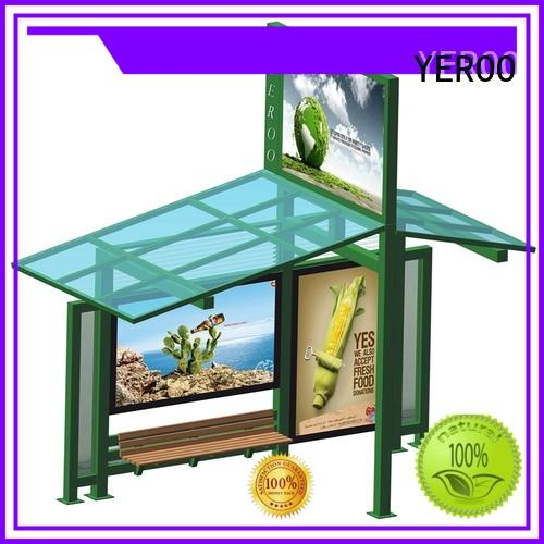 metal Bus Shelter steel structure for road YEROO