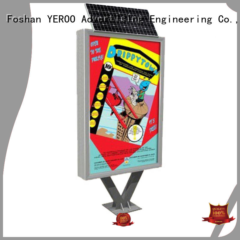 YEROO hot-sale display light box bulk production for marketing