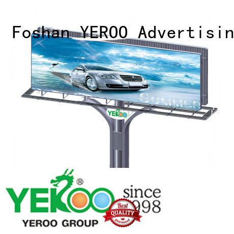YEROO billboard outdoor supplier fro market