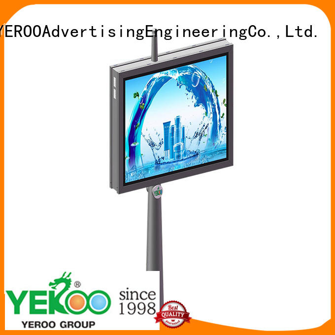 wholesale outdoor led light box single for advertising YEROO