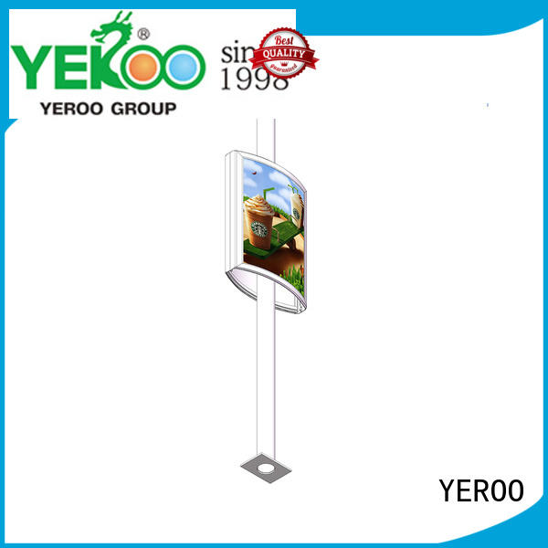 advertising pole led display lamp for city YEROO