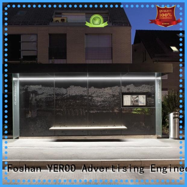 box bus shelter ad at discount for suburb