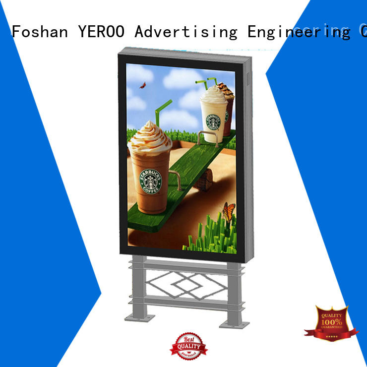 scrolling light box good quality for advertising