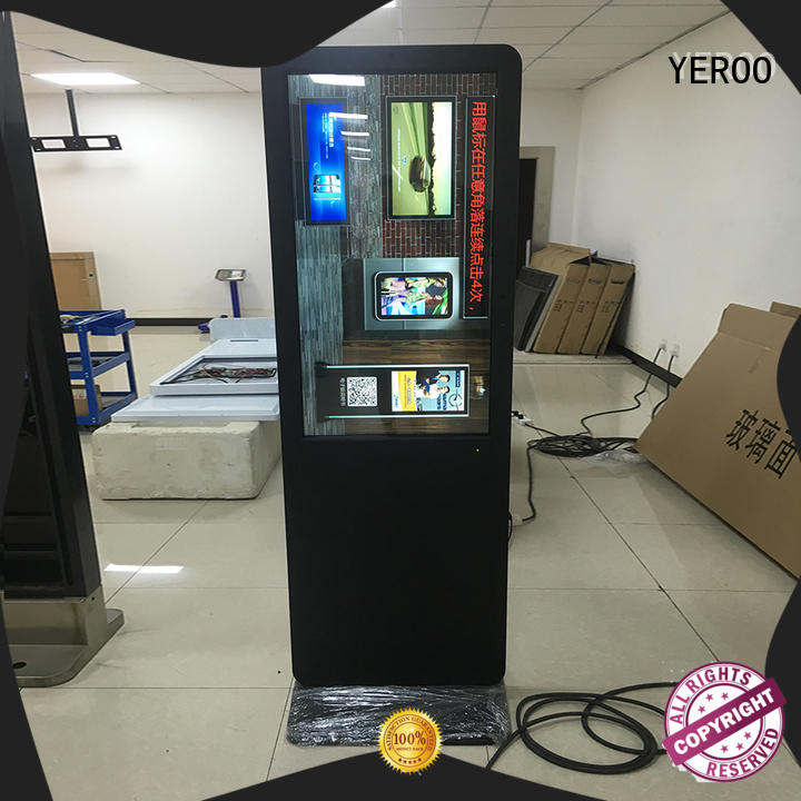 YEROO digital signage displays top brand for store