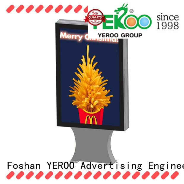 custom light box signs city post for store YEROO