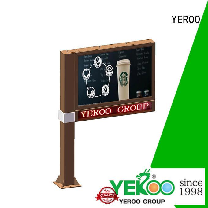 billboard rolling billboard gantry for advertising YEROO