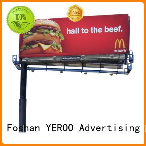 billboard structure metal for super mall YEROO