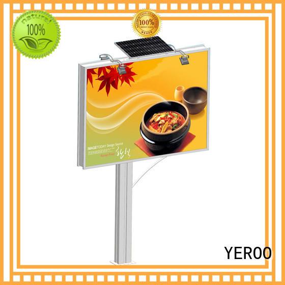 YEROO double side billboard outdoor bulk production for advertising